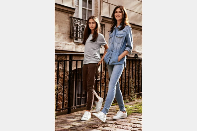 Alice Attal et Charlotte Gainsbourg