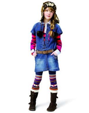 robe en jean catimini
