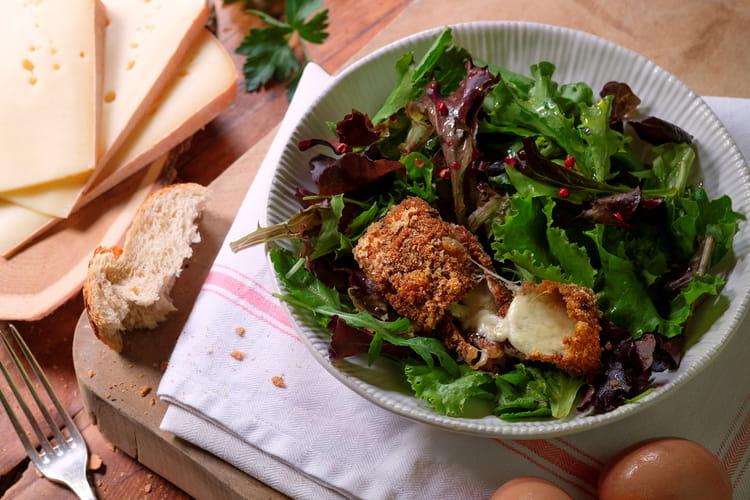 Salade d'hiver à la Raclette de Savoie