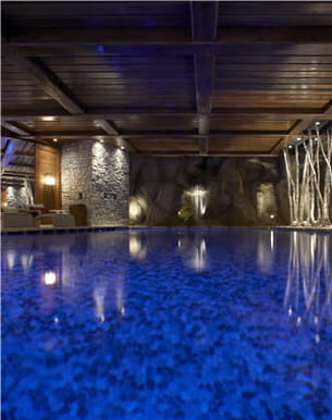 piscine du spa givenchy cheval blanc à courchevel