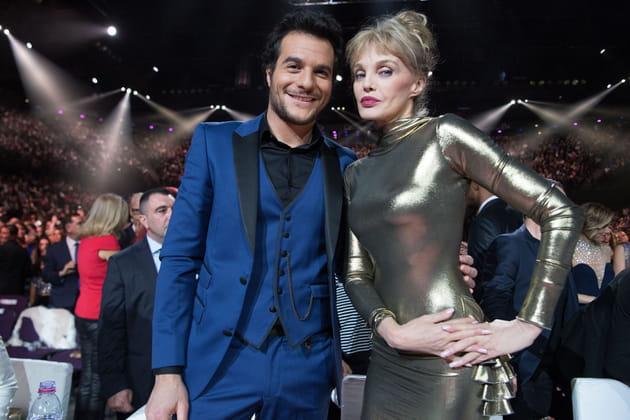 Amir et Arielle Dombasle, présidente du jury