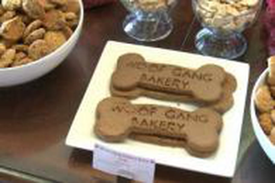 Une pâtisserie spécialisée dans le biscuit pour... chien