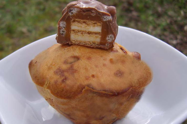 Muffins aux barres Lion