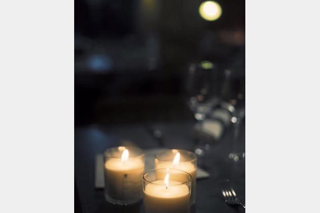 Pierre Augé, à la chaleur de bougies