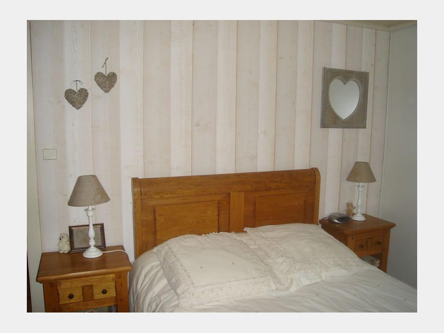 Bois et c urs comment d corer une chambre romantique - Decorer une chambre ...