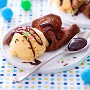mini-crêpes tout chocolat
