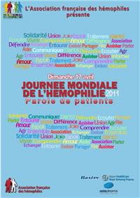 la 23e journée mondiale des hémophiles se tiendra dimanche 17 avril.