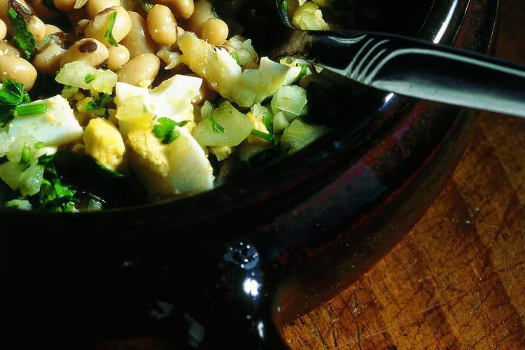 Salade de haricots-princes (Salada de feijão frade)