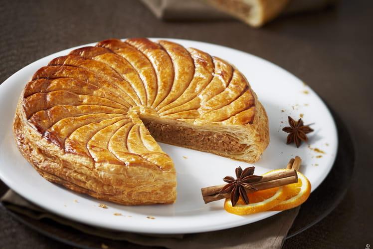 Galette des rois au pain d'épices
