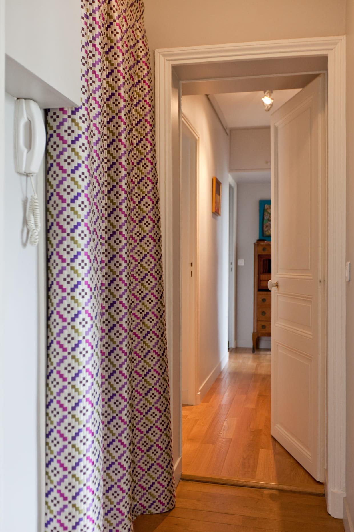 des rideaux color s. Black Bedroom Furniture Sets. Home Design Ideas