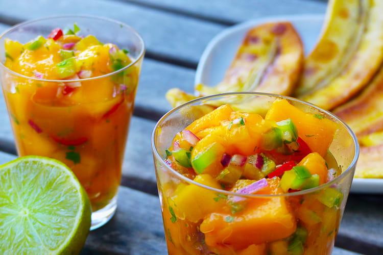 Ceviche végétarien à la mangue