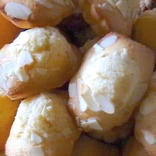 madeleines aux amandes