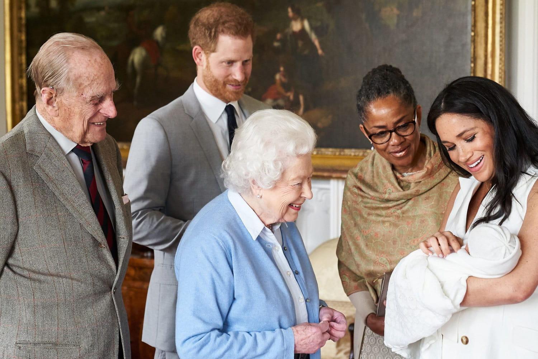 La Reine a déjà rencontré la fille de Meghan et Harry