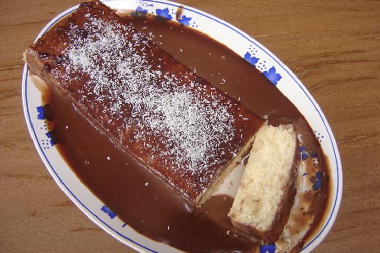 Pavé chocolat et coco