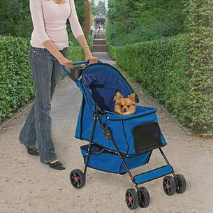 la poussette smart buggy pour chiens et chats.