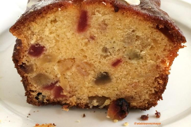 Cake aux fruits confits et au rhum