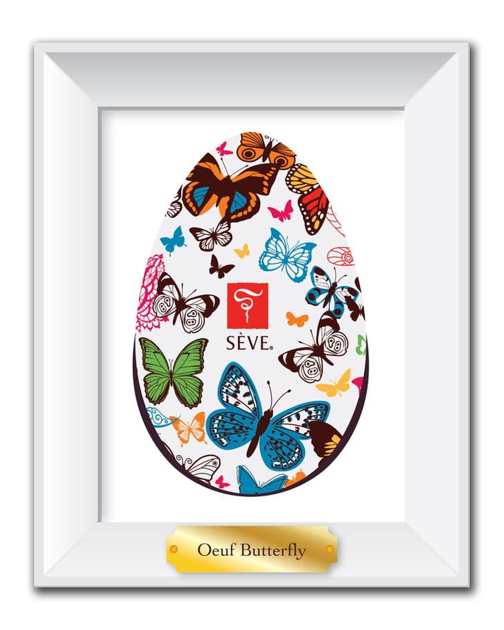 Oeuf butterfly de la Maison Sève