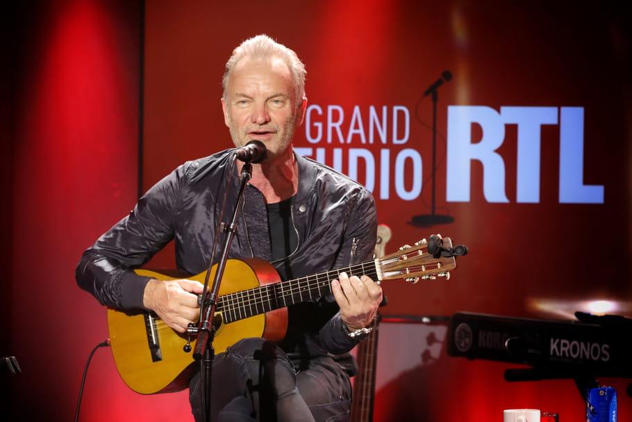 """Sting, sur RTL: """"Je ne recherche pas la jeunesse éternelle"""""""