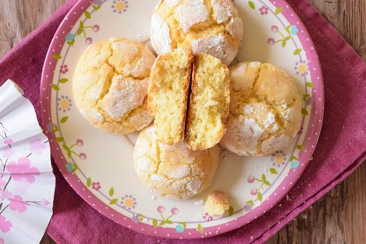 Biscuits Crinckles au citron