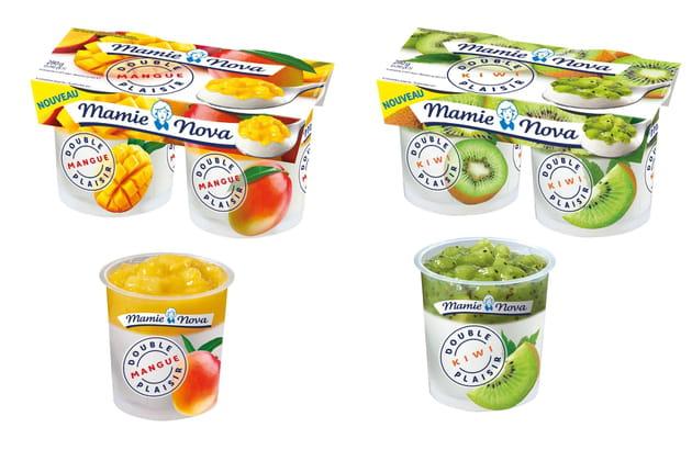 Les nouveaux desserts aux fruits Mamie Nova®
