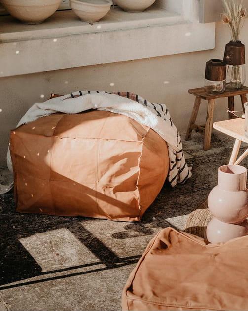 L'objet du désir: le pouf Kamel chez Debongout