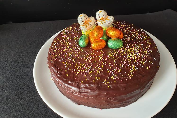 Gâteau de Pâques infiniment chocolat