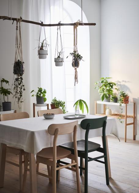 Ciel de table végétal
