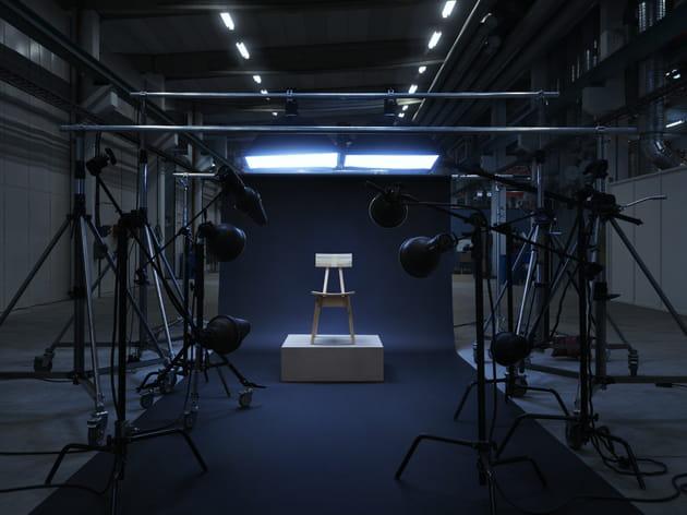 Chaise Industriell par Piet Hein Eek