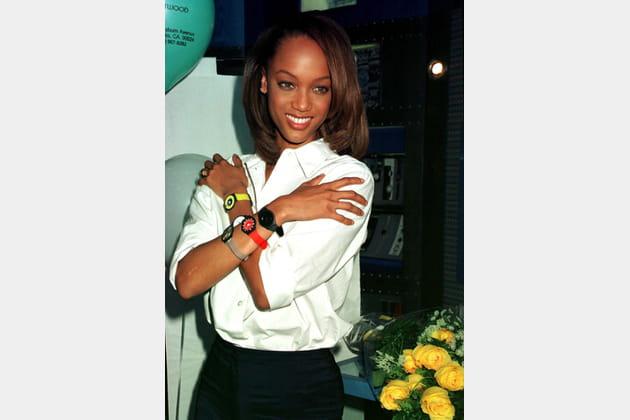 Tyra Banks en 1997