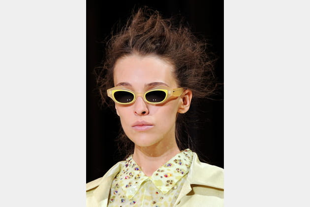 Les lunettes jaunes de Rochas