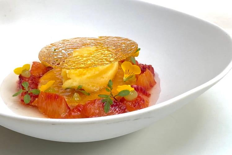Crème caramel à l'orange Dom Pacello Royal Orange® Massenez