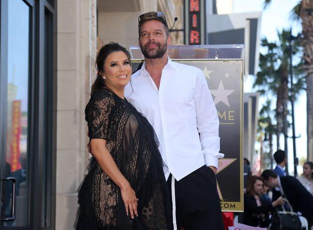 Avec Ricky Martin