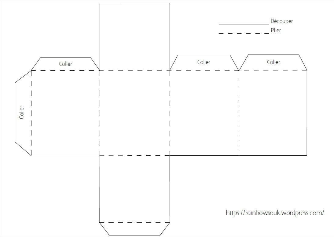 diy un calendrier de l 39 avent maisonnettes en papier. Black Bedroom Furniture Sets. Home Design Ideas