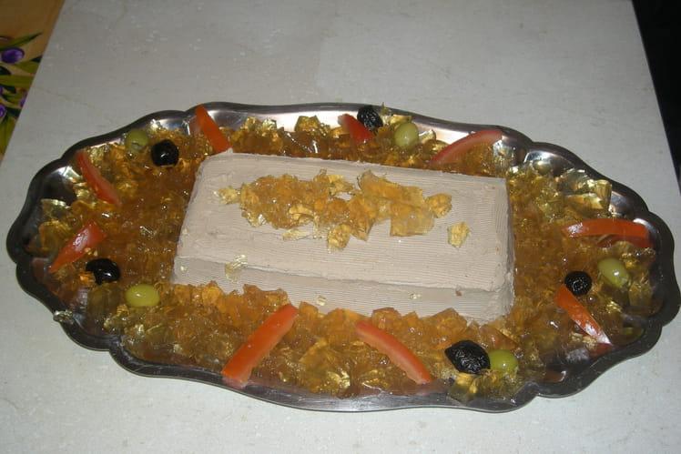 Délice de foies de volaille au jus de truffes