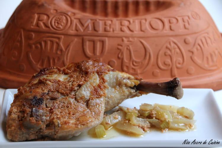 Poulet tandoori au Romertopf