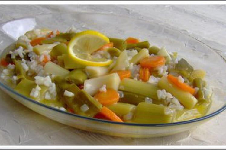 Poireaux à l'huile d'olive