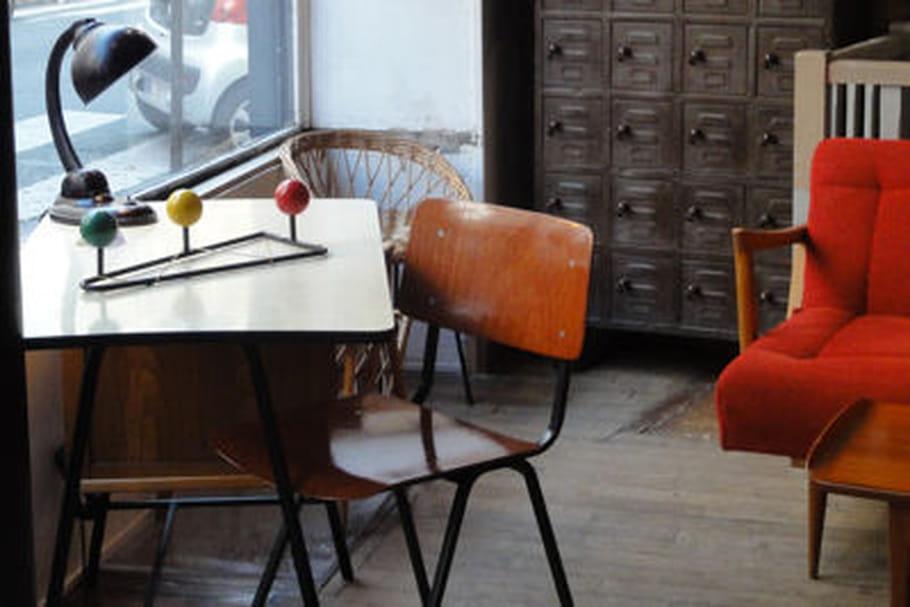 Mobilier vintage: Hiving Room ouvre sa boutique