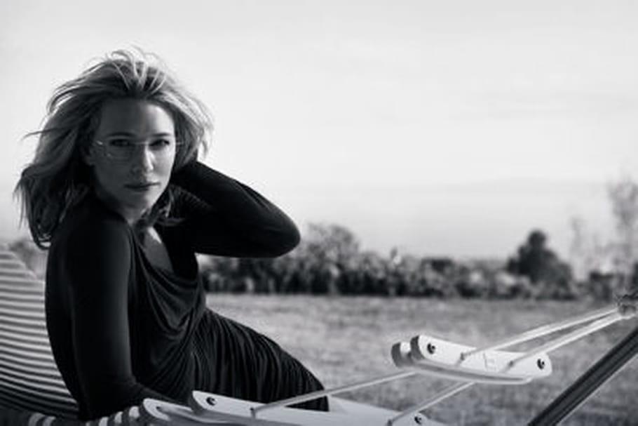 Cate Blanchett, nouvelle icône des lunettes Silhouette