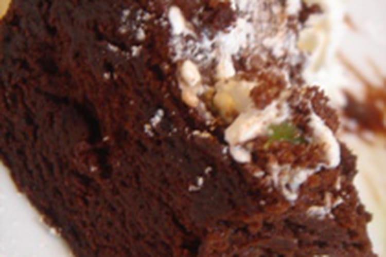 Gâteau au chocolat et au rhum