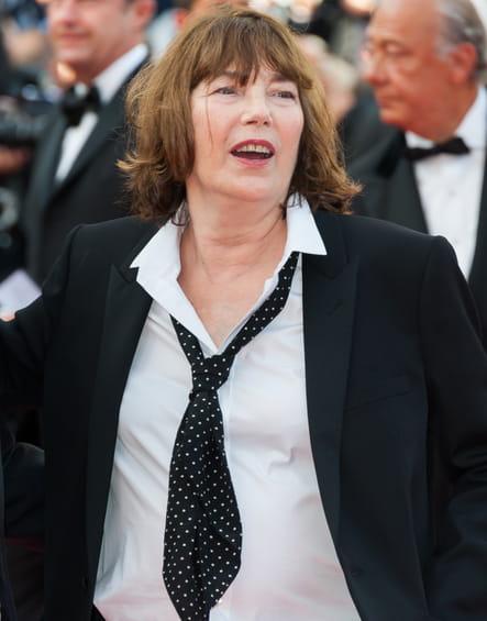 Jane Birkin, méconnaissable