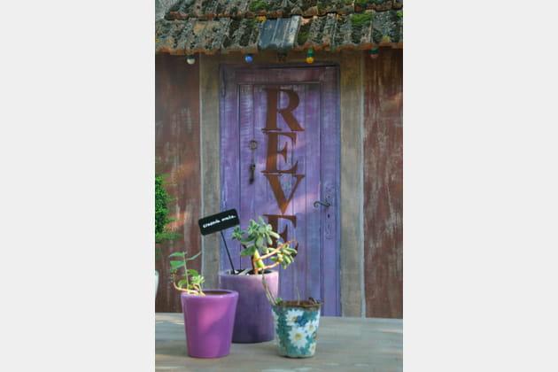 Une porte de jardin