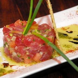 tartare de thon rouge au gingembre