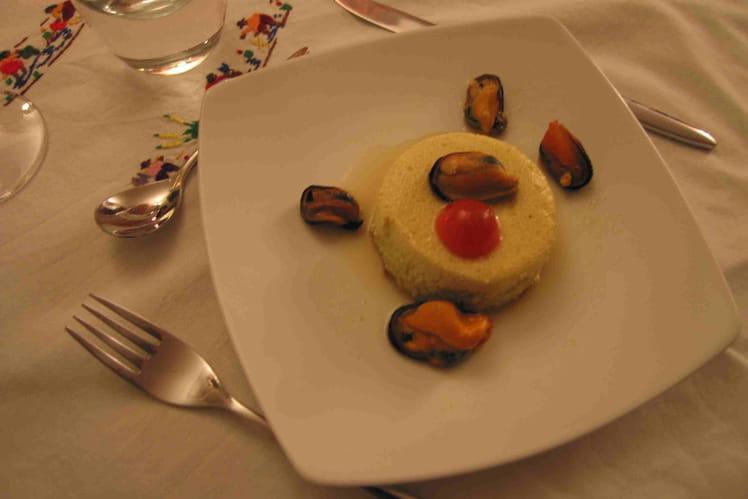 Recette de flan de courgettes aux moules la recette facile for Entree legere originale