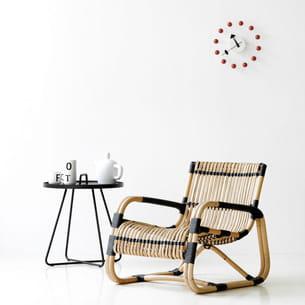 fauteuil curve de design ikonik