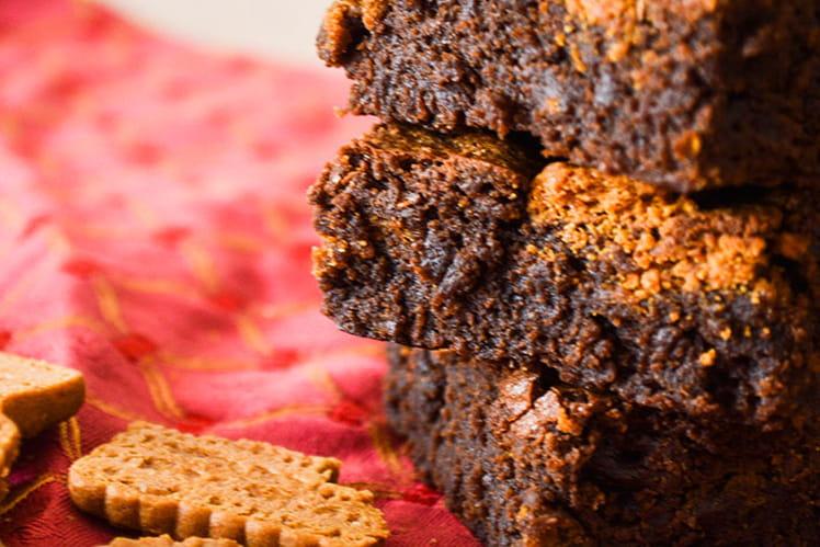 Brownie chocolat et speculoos