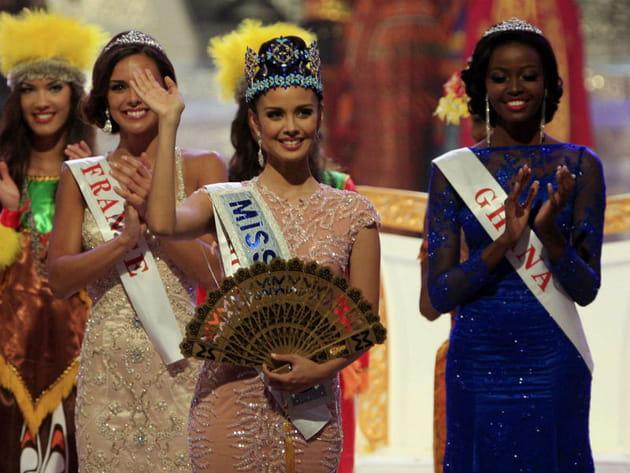 Miss France, aux anges