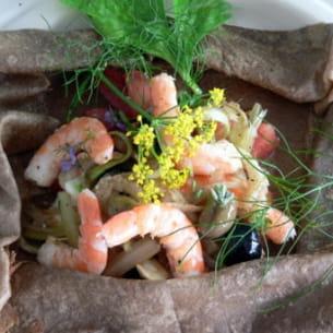 crêpe de sarrasin aux saveurs provençales