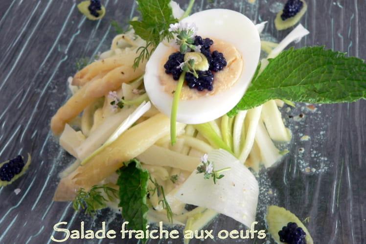 Salade fraiche aux oeufs