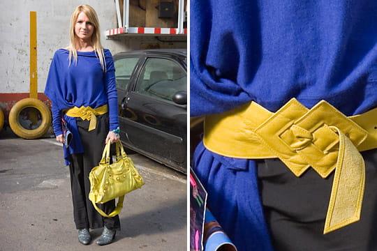 Fashion week : les street looks des défilés parisiens PAP automne-hiver 2011-2012 44