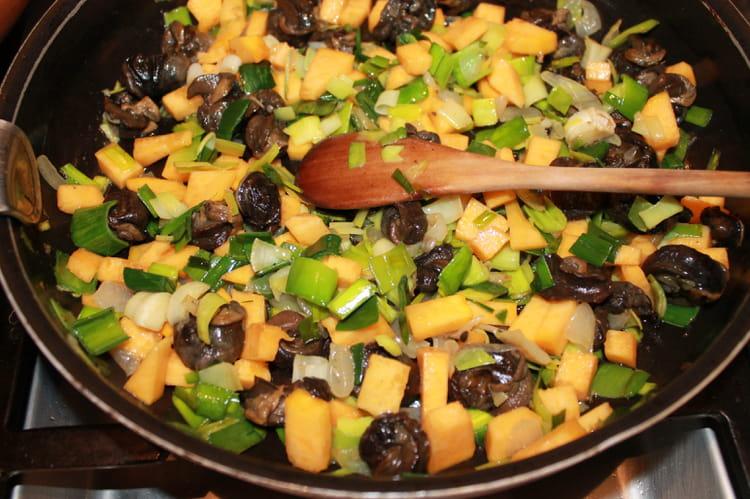 Recette de po l e color e aux escargots de bourgogne la - Cuisiner les escargots ...